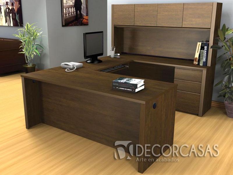 Muebles para oficinas en melamine escritorios de melamine for Escritorios para oficina economicos