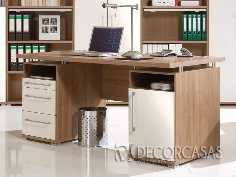 Muebles para oficinas en melamine escritorios de melamine for Escritorios de oficina