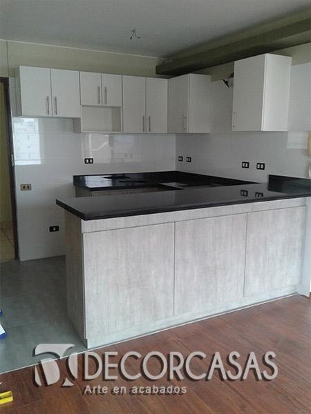 Muebles de cocina en melamina Perú, Muebles de melamine Peru ...