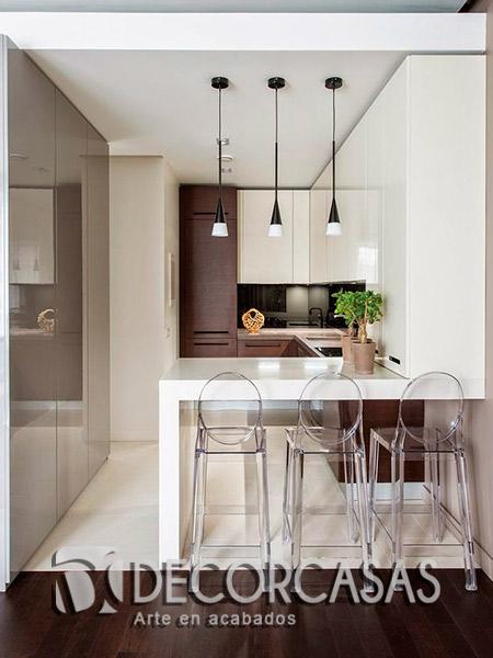 Muebles de cocina en melamina per muebles de melamine for Mueble barra cocina