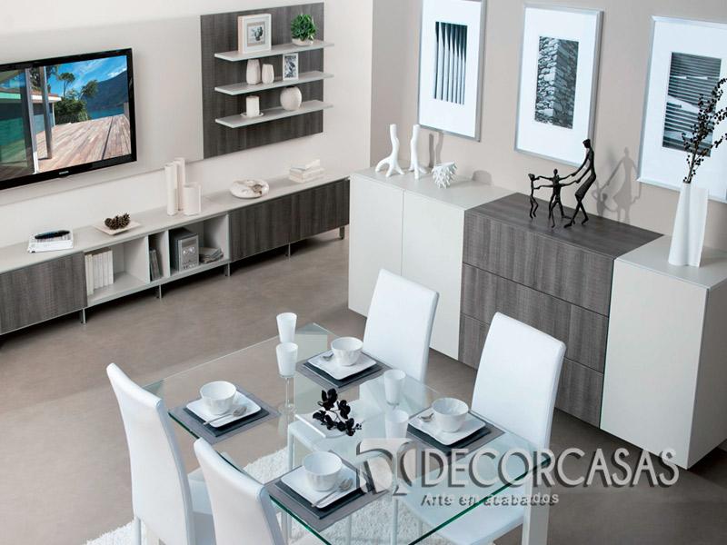 Muebles de sala en melamina centros de entretenimiento - Mueble multimedia ...