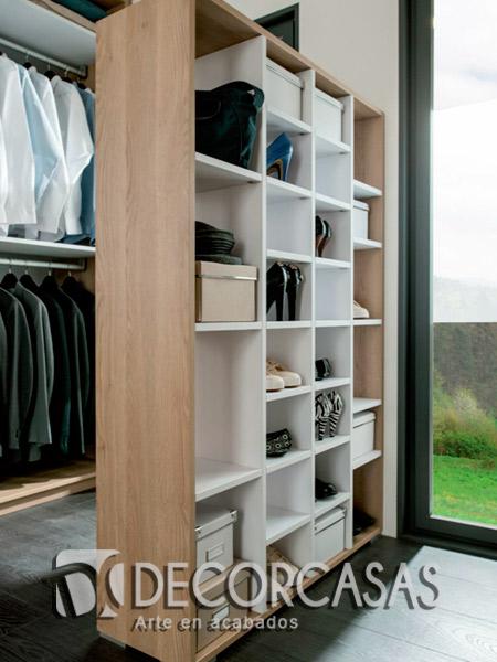 Muebles de dormitorio en melamina, Closets de melamine, Roperos de ...