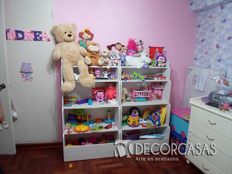 Muebles de dormitorio en melamina closets de melamine roperos de melamine - Muebles dormitorio ninos ...